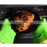hot sell heat resistant BBQ and baking 5 fingers silicone cooking glove                                                                         Quality Choice