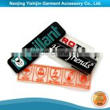 High Quality Factory Direct Fire Resistant Rubber Labels