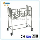 Bossay BS-615 Metal Material Baby Hospital Bed With CE Certification
