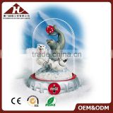 polar bear custom snow globe with company logo                                                                                                         Supplier's Choice