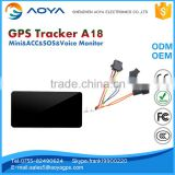 Fleet management satellite tracking device GPS GPRS GSM Tracker with free tracking system with server