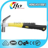 Eco-friendly rubber install hammer steel sledge hammer with antislip rubber round handle