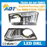 Front bumper for BMW F10/F11 5ER M-technik W/PDC + Daytime Running Lights DRL LED