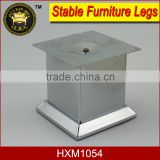 high quality smooth surface steel furniture legs for morden sofa