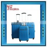 2014 china supplier New product 3pcs blue ABS elastic paint suitcase/luggage and bags/travel bags and luggages