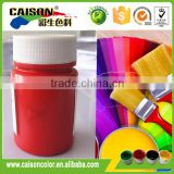 2kg plastic pot of Red pigment coating colourant for paints