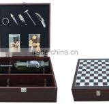 9o% discount for the promotion wholesale wine box set 3 bottles with corkscrew wine stopper