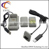 wireless controller charger cable for xbox 360 5 in 1