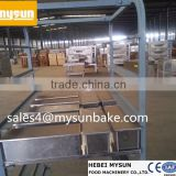 Wholesale commercial stainless steel bread baking cooling rack/bread cooling trolley rack/bread baking pan