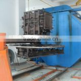 Shuttle rotational mould machine one station service manufacturers plastic container/tank maker