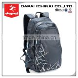 Custom Hiking Backpack Bag Fashionable Black Leisure City Backpack