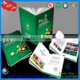 2015 New Deisgn Custom Printed for Small Paper Folded Manual / Leaflet / Brochure /instruction books/Hang tag with sling
