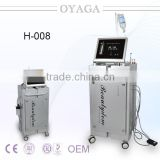 Water Oxygen Jet Facial Beauty Machine With Oxygen Skin Care Machine BIO/ Oxygen Mask/ Diamond Dermabrasion/lymphatic Drainage Head H-008 Facial Treatment Machine