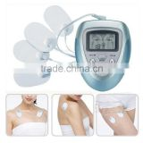 Body Slimming Massager Tens Acupuncture Digital Therapy Machine Massager With 4 PCS Electrode