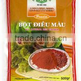 Vietnam Best-Quality Annatto Seed Powder 500g FMCG products