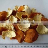 dried orange peel:whole, slice, c/s, powder