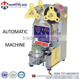 Good quality automatic bubble tea cup sealing machine, pearl milk tea equipment