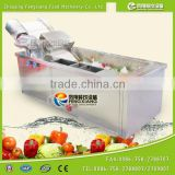 WA-1000 Automatic Washer Type and New Condition Vegetable Seafood Fruits Bubble processing cleaning Machine