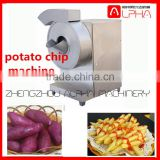 High efficiency electric slip potato chips cutting machine/fresh potato chips cutter machine