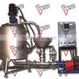 Vacuum Homogenizing Emulsifying tank Mayonaise Making Machines with circulation system/Cream homogenizer Mixer