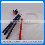 Disposable plastic hookah hose