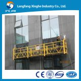 100m height steel and aluminium suspended working platform