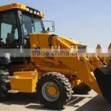hydraulic joystick operating tractor back hoe loader model wz30-25, 4 wheel drived,with CE certification