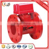Automatic fire fighting system flange type water flow detector water flow indicator
