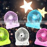 Promotion Taobao best-selling Portable battery operated rechargeable handheld Mini USB fan