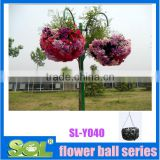 potpourri decorative balls bulk plastic balls Decorative plastic hanging basket planters ball