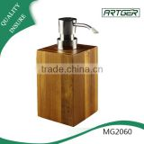 kitchen and bath room use empty lotion wooden pump bottle