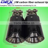 Racing Exhaust Tip High Quality Best Price Stainless Steel Carbon Fiber Exhaust Muffler Tip for B~MW