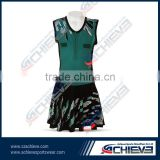Sublimated Netball Dress/ Tennis Bodysuits Women for cheerleaders