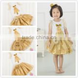 Garments Factory Christmas Newborn Baby Cotton Long Sleeve Fluffy Petti Tutu Dress Latest Boutique Dresses For Kids