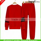 Fashionable lady's casual tracksuit girls sportswear set OEM winter/autumn sweatshirt