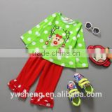 New Clothing Sets For Kids Girl boutique Christmas Children's Outfits Flared trousers