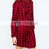 best-selling sales ladies plaid formal coktail evening dress