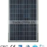 110 Watt poly-crystalline color full solar panel