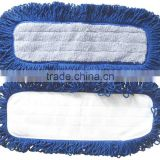 Microfiber Dust Flat Mop Pad (Fringed dry dust mops ),microfiber mop head / cloth,microfiber dust flat mop pad ( Fringed dry du