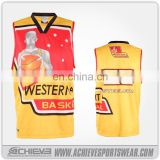 sublimation custom made youth philippines custom basketball uniform