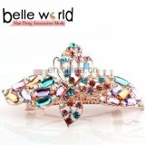 Latest Vintage Fashion Women Bow Rhinestone Barrette Hair Clip