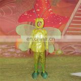 HI CE Funny gloden butterfly adult mascot costume for party