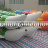 2015 new fashion commercial Inflatable PVC banana boat W1012