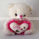 Will you marry me my love teddy bear plush toy