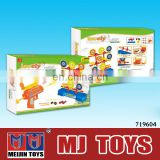 2015 Educational Toys indoor shooting game machine gun toys safe for children