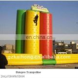 2011exciting inflatable climbing wall