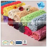 beautiful Chenille Jacquard Sofa Fabric bath Rug popular in young people