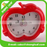 Creative gifts fashion children's apple art students vibrating alarm clock