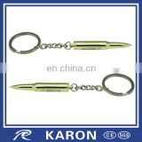 wholesale promotional personalized bullet key chain