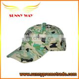 hot selling cotton camouflage cap